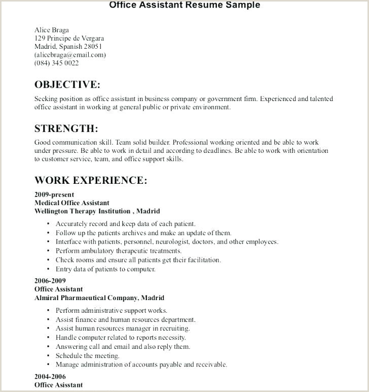 Fresher Resume Format For Receptionist Resume Objective Receptionist – Paknts