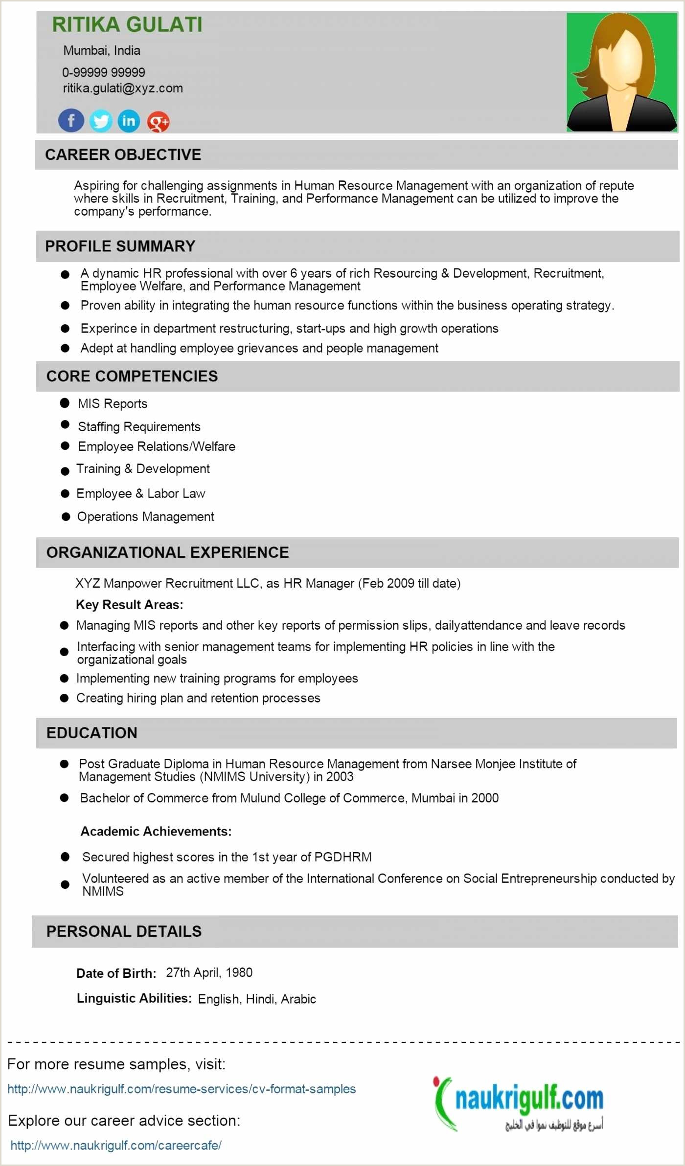Fresher Resume format for Store Mba Fresher Resume Pdf Zoroaggs