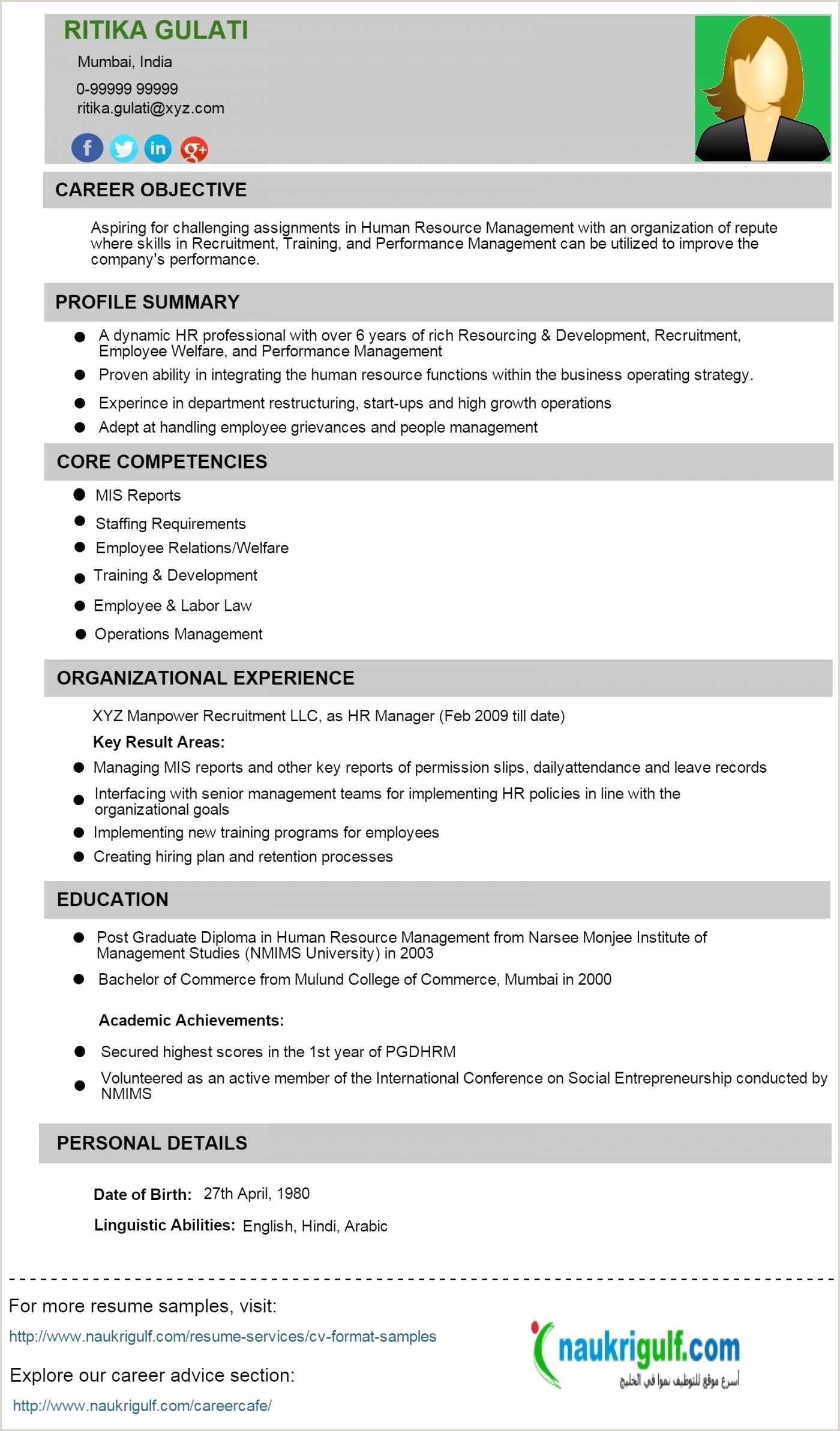 Fresher Resume format for Store Mba Fresher Resume Pdf Zoroaggs