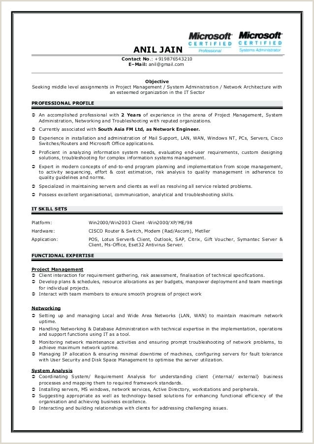 Fresher Resume Format For Structural Engineer Cost Engineer Cover Letter – Wanjlee