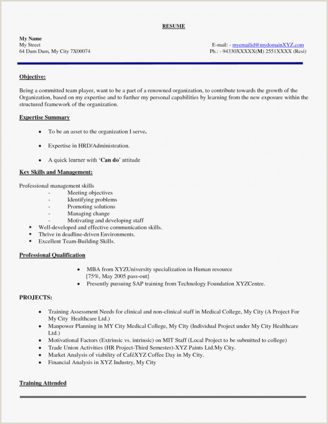 Fresher Resume Format For Structural Engineer Sample Resume Hotel Management Fresher New Lecturer