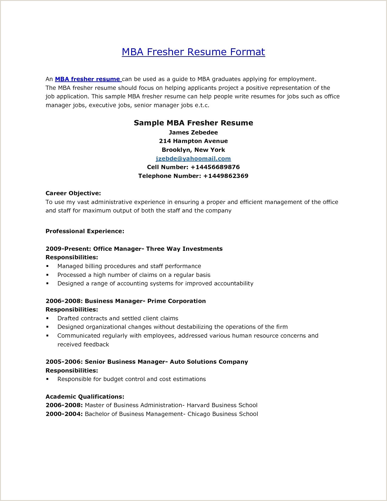 Fresher Resume format for Structural Engineer Technical Resume format for Experienced Professional B Pharm