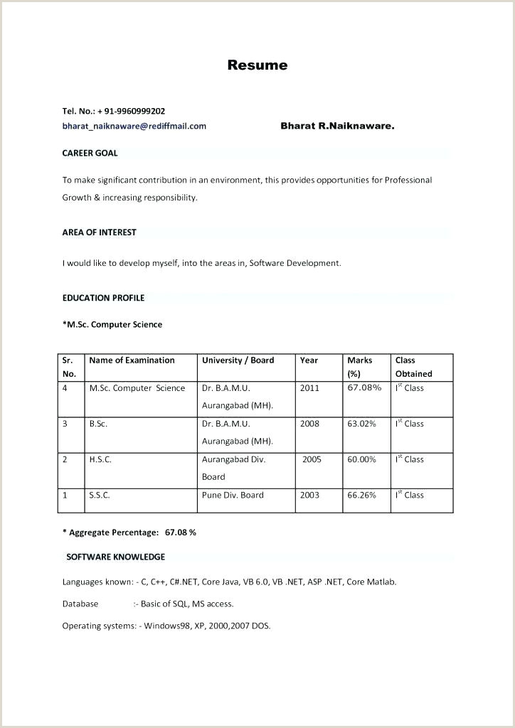 Fresher Resume format for System Administrator Sap Basis Administration Cover Letter – Wanjlee