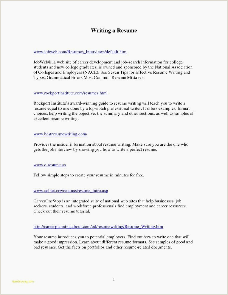 Fresher Resume Format For Teaching Job 40 Elegant Format A Cv For Job Application Image