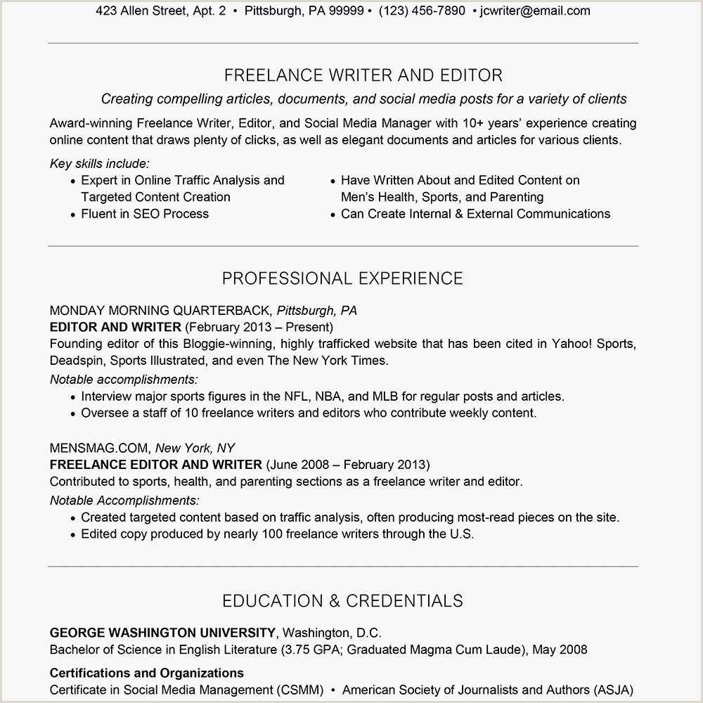 Fresher Resume format for Telecaller Freelance Resume and Cover Letter Examples and Tips