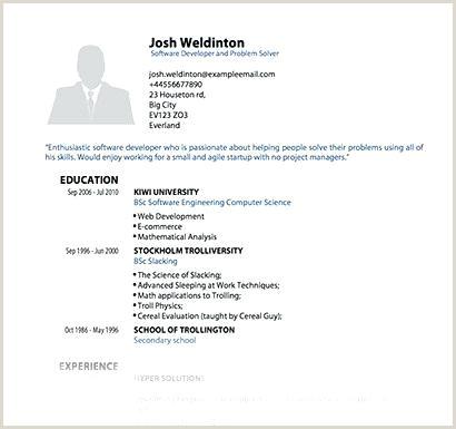 Fresher Resume Format For Web Developer Cv Template Pdf