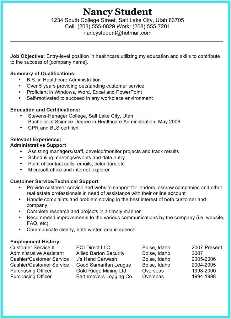 Fresher Resume format In Ms Word It Resume Template Download It Resume format for Freshers