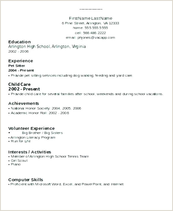 Fresher Resume Format In Pdf Simple Resume Format For Freshers – Wikirian