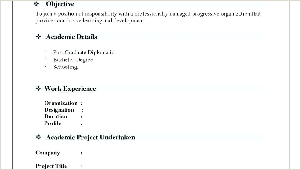 Fresher Resume Format In Word File Creating A Resume Template In Word