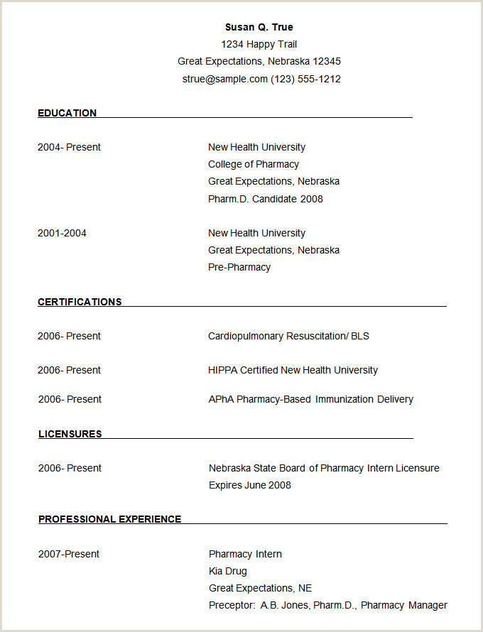 Fresher Resume Format In Word File Microsoft Word Resume Template 49 Free Samples Examples