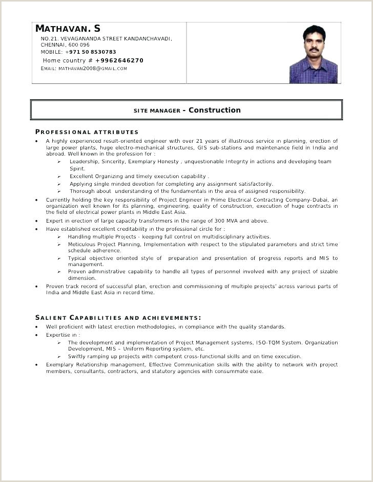 Fresher Resume format Mechanical Engineer Pdf Best Resume for Electrical Engineer – Emelcotest