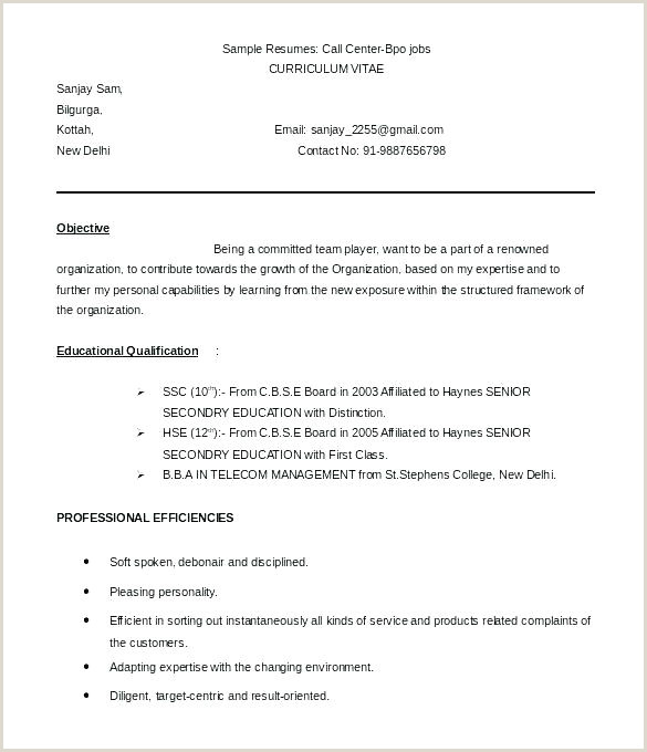 Fresher Resume Format Ms Word Resume Format In Word File – Arzamas