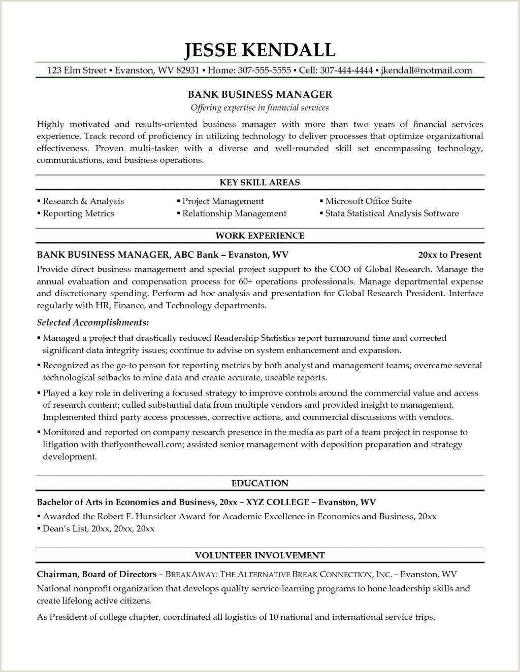 Fresher Resume Format Naukri Resume Template Format For Bankingtor Freshers Download