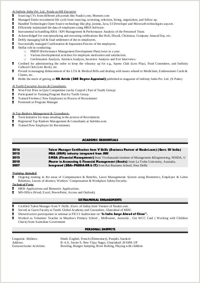 Fresher Resume Format Naukri Write Descriptive Essay Event Custom Officer Exam Past