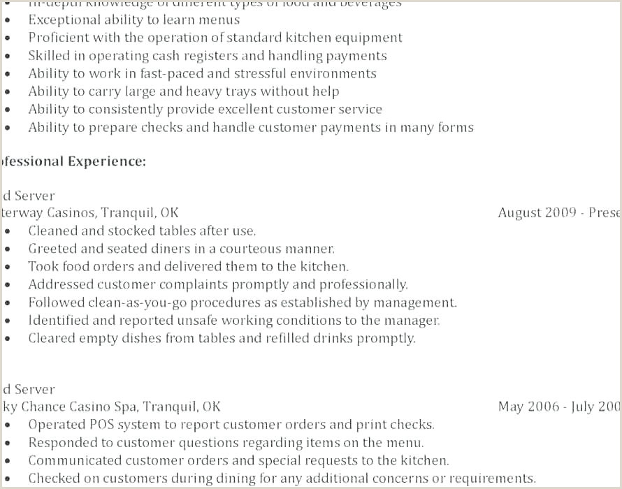 Fresher Resume format Objective Standard Resume Template