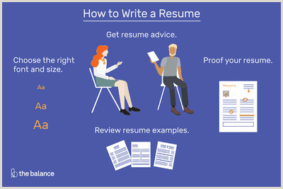 Fresher Resume format Online How to Write A Resume that Will Get You An Interview