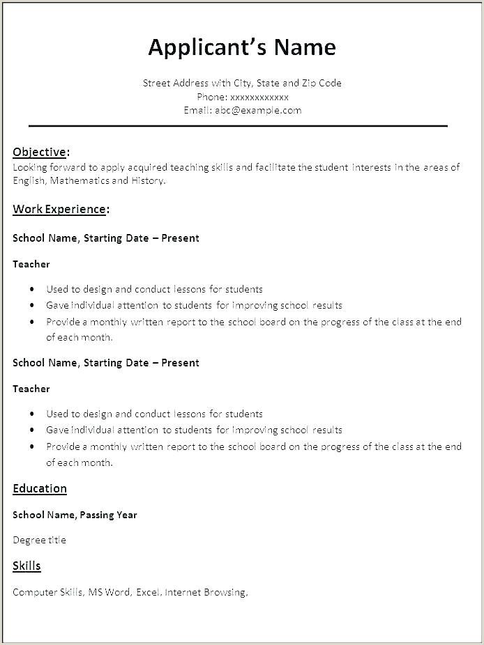 Fresher Resume format Pdf Free Download Resume Examples Experience Examples Experience Resume Cv