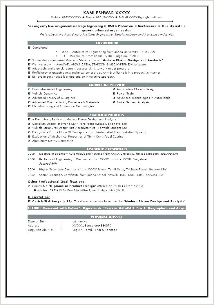Fresher Resume format Pdf India Pdf Resume format – Paknts