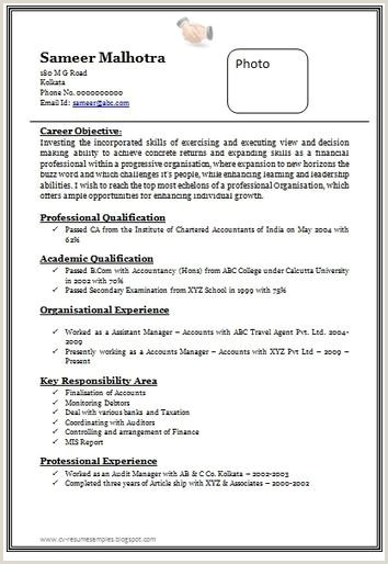 Fresher Resume format with Photo Career Page 13 Scoop It Pany Secretary Fresher Resume