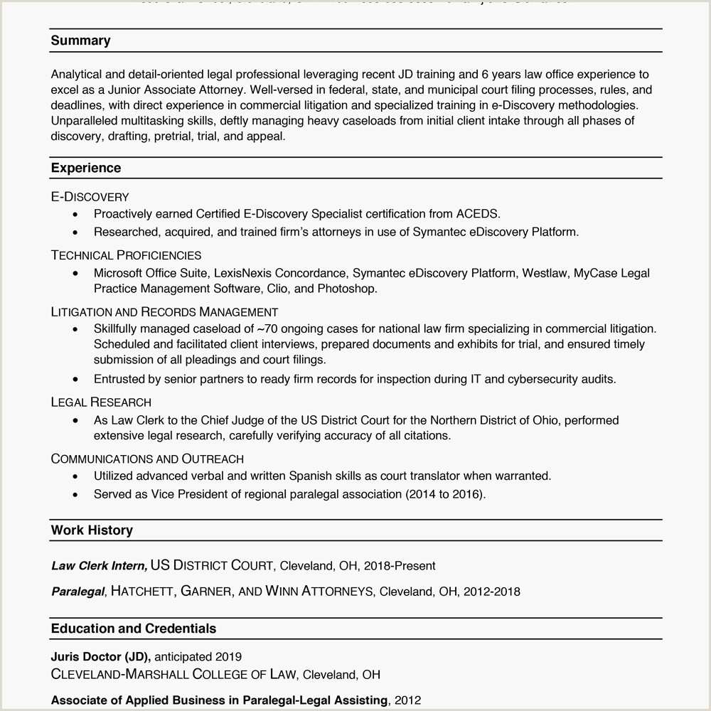 Fresher Resume Format With Project Details Resume Formats—with Examples And Formatting Tips