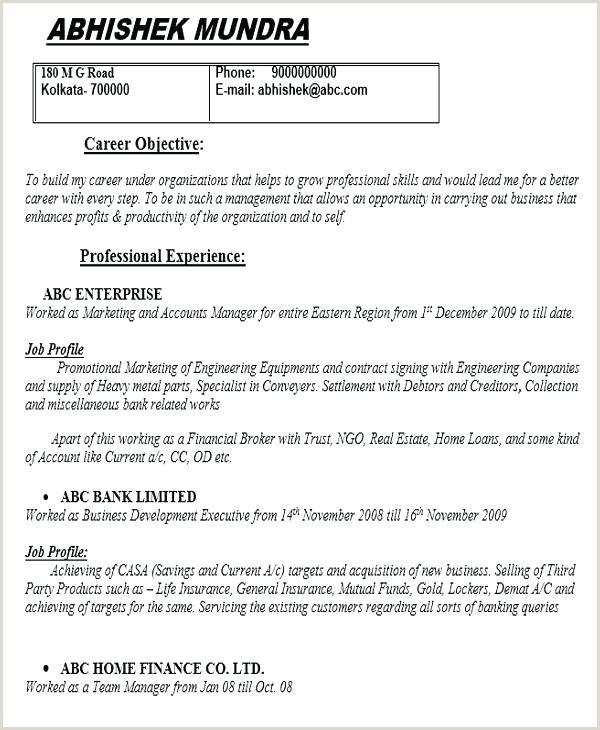 Fresher Resume Sample Download Doc Digital Marketing Resume Sample Template Fresher Templates