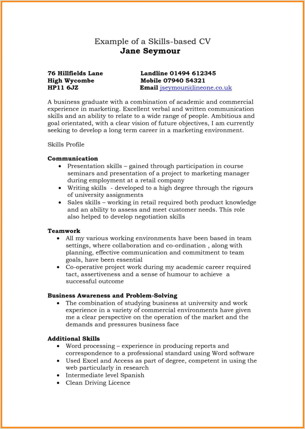 Fresher Resume Teacher format Templatesnce Based Cv Samples Sample format It Experience