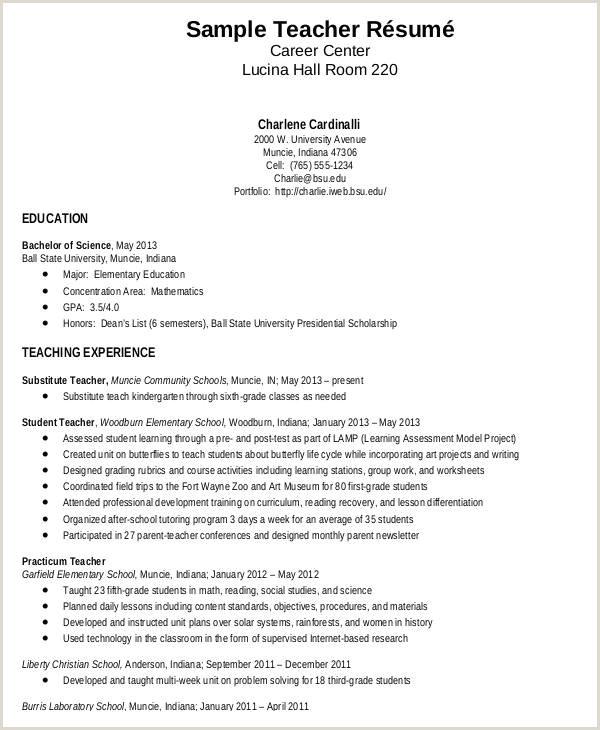 Fresher Teacher Cv format In Word Fresher Teacher Resume Cover Letter Awesome Resume Example