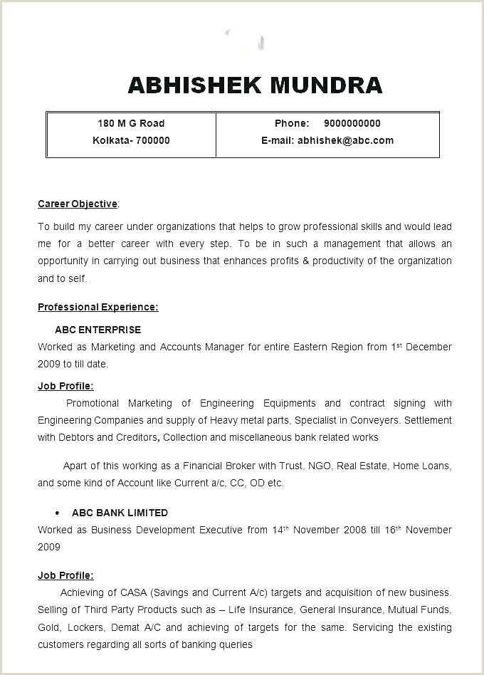 Fresher Teacher Resume format Doc India Best Resumes format – Joefitnessstore