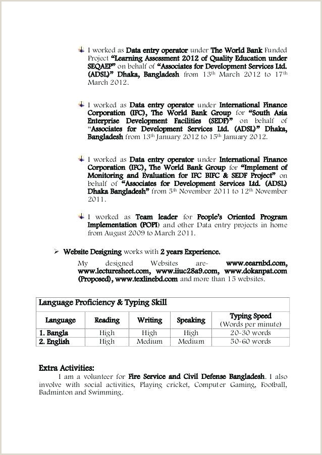 Fresher Teacher Resume Format Download Pdf 40 Elegant Biodata Format For Job Fresher Pdf Download