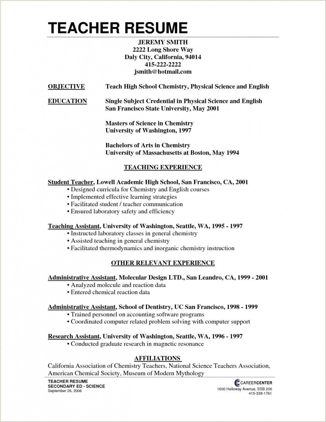 Fresher Teacher Resume Format Download Pdf Teacher Resume Format Pdf