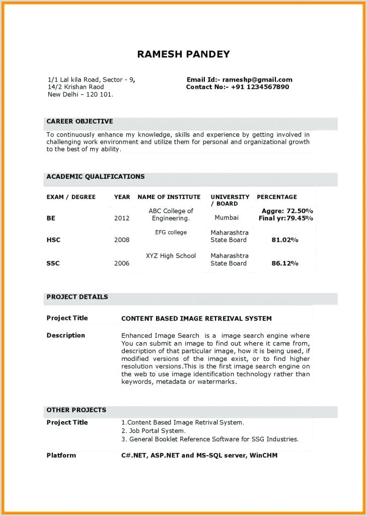 Fresher Teacher Resume format Download Personal Statement Examples for Graduate School Education