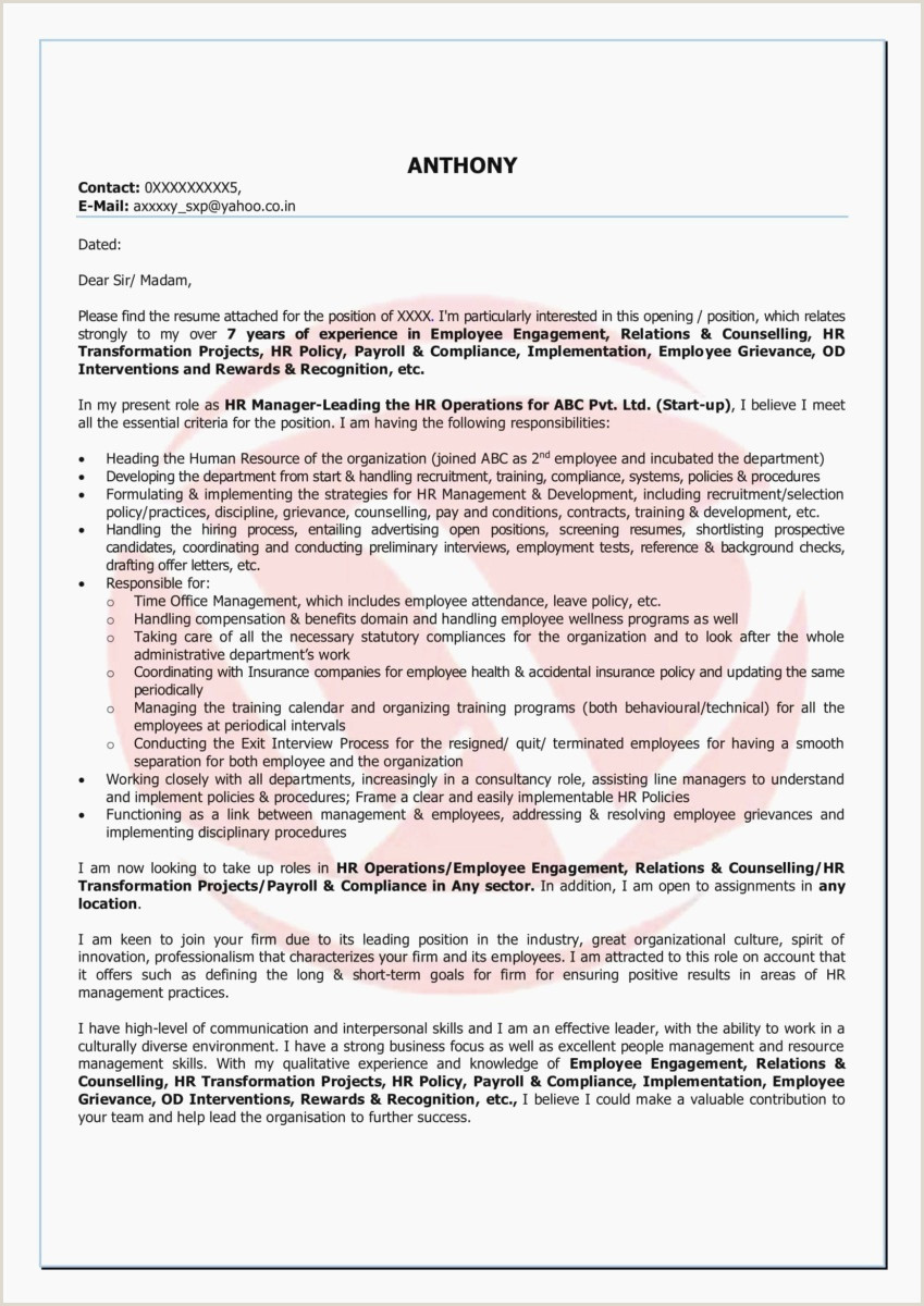Fresher Teacher Resume format Word Cover Letters Templates Template Design Ideas Professional