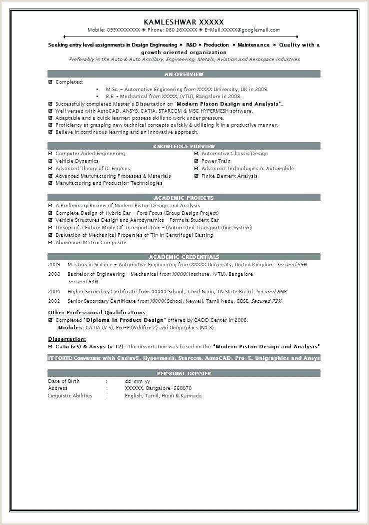 Freshers Resume format Engineers Pdf Resume format – Paknts