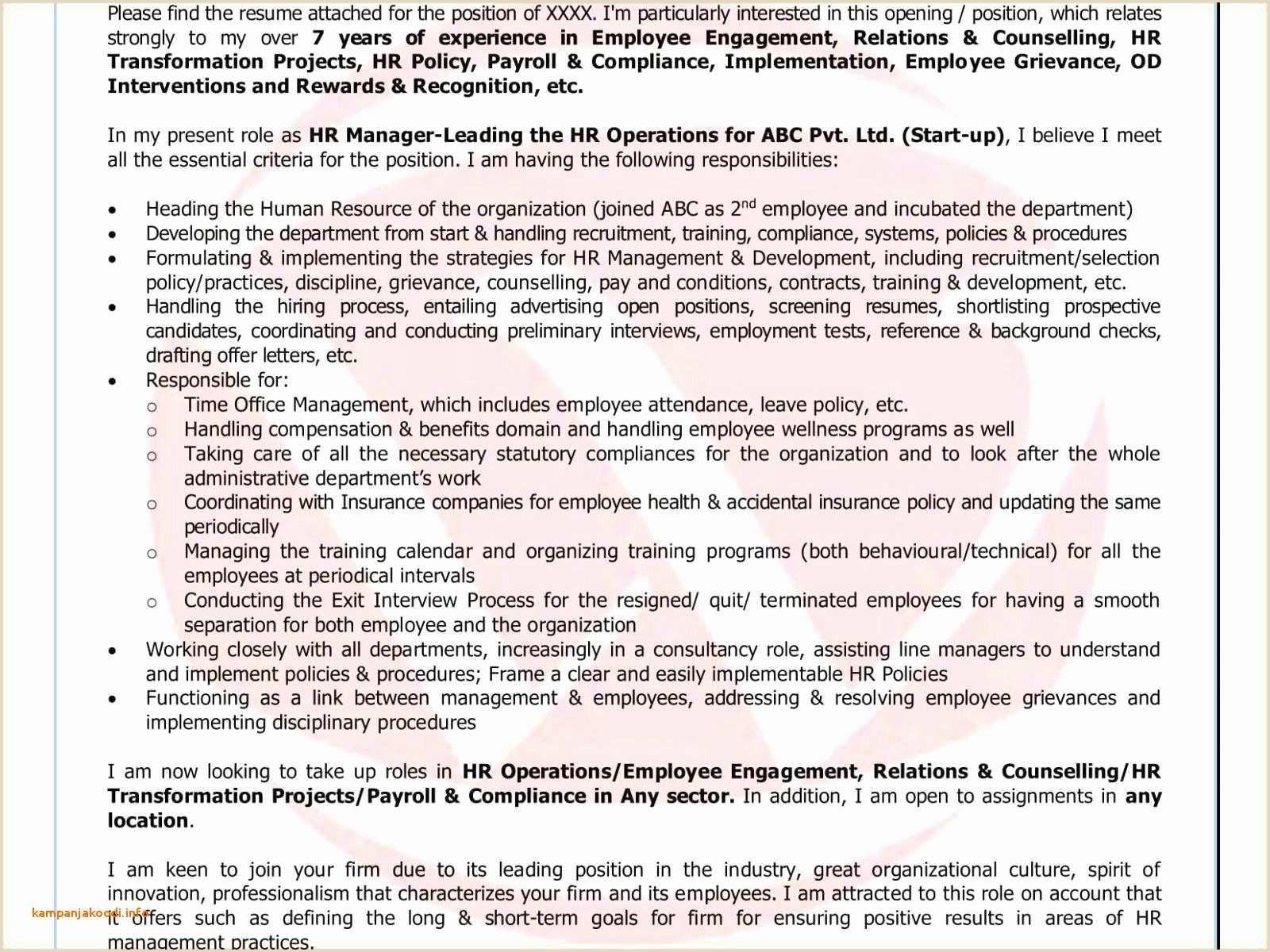 Freshers Resume Format For Commerce Sample Resume Format For B Freshers Valid Best Resume