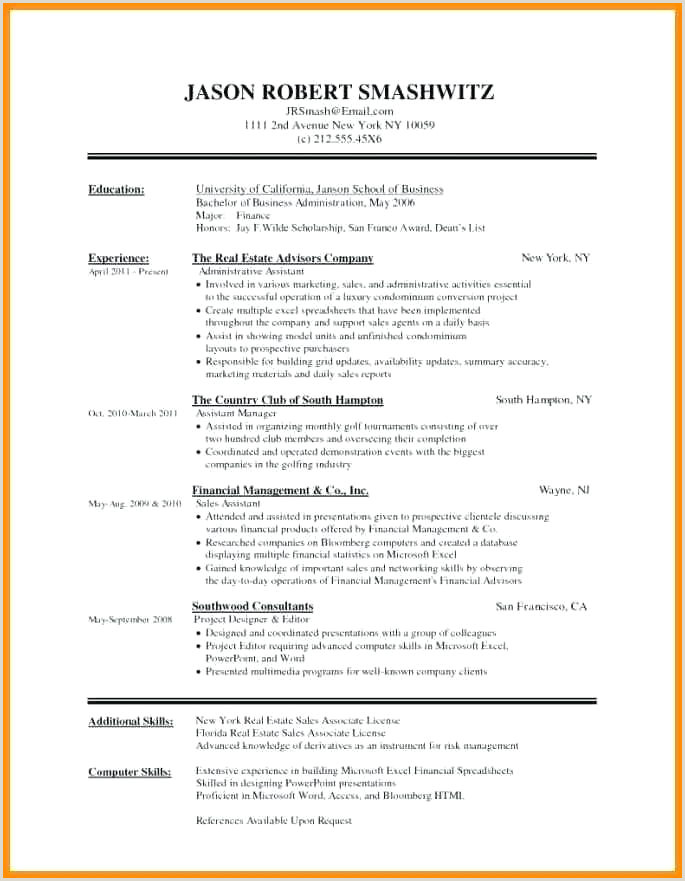 Freshers Resume Format In Word Document Formal Resume Format Sample – Thrifdecorblog