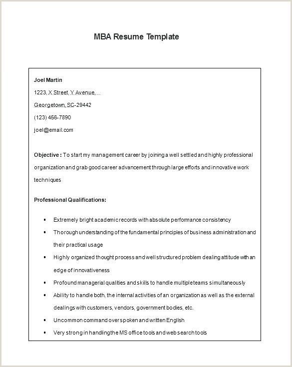 Freshers Resume format Word Document Sample Resume format for Mba Finance Freshers
