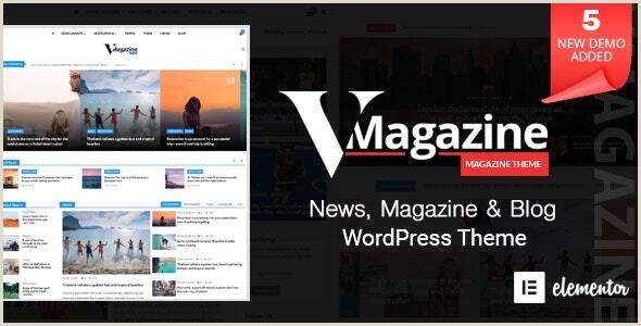 Vmagazine Blog NewsPaper Magazine WordPress Themes by