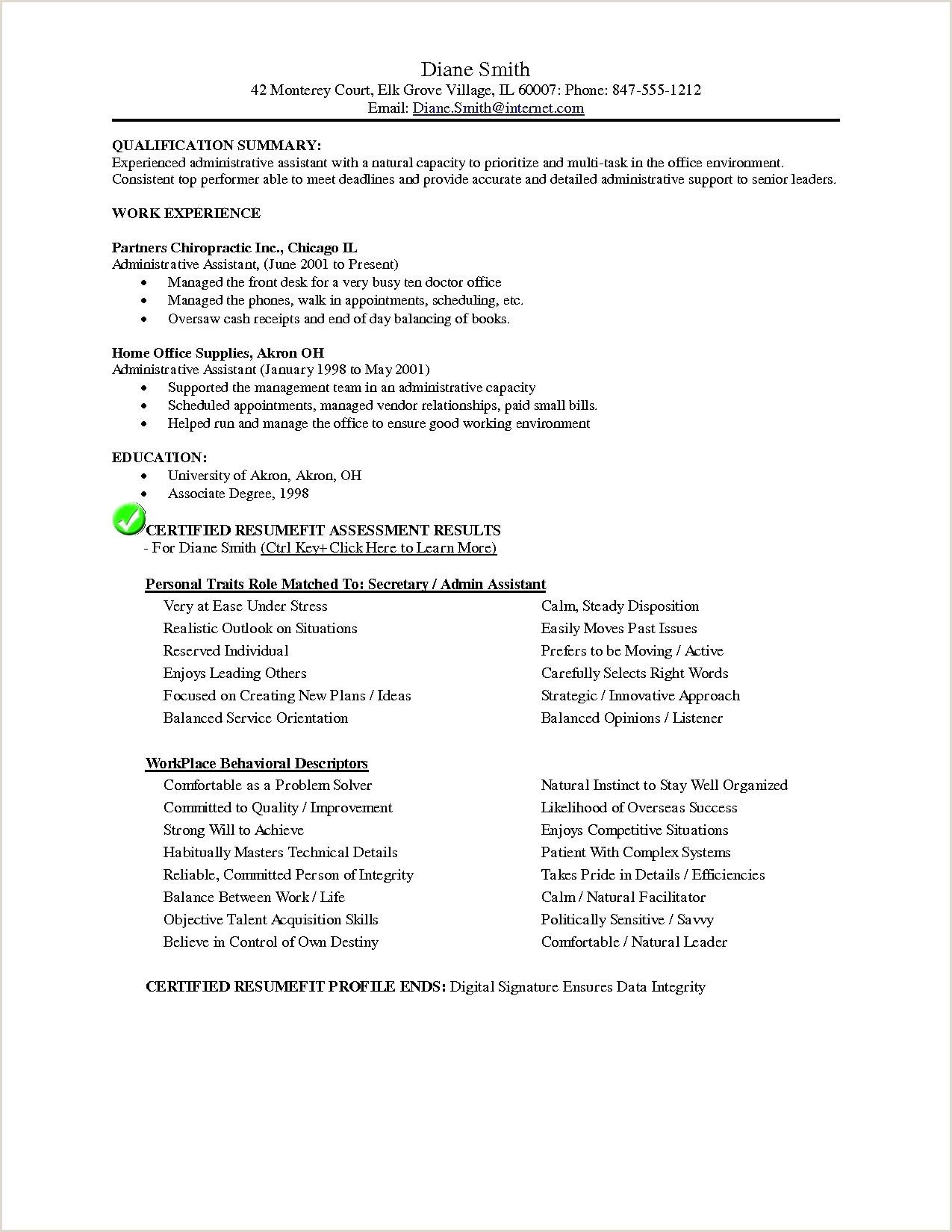 Front Desk Resume Cv Administrateur Systeme De Base Samples Resumes New