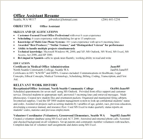 resume of a medical assistant – wikirian