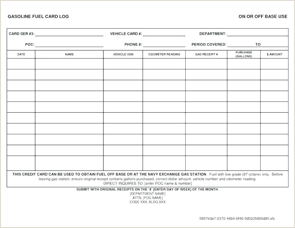 Fuel Log Sheet Template Fuel Log Sheet Template Gas And