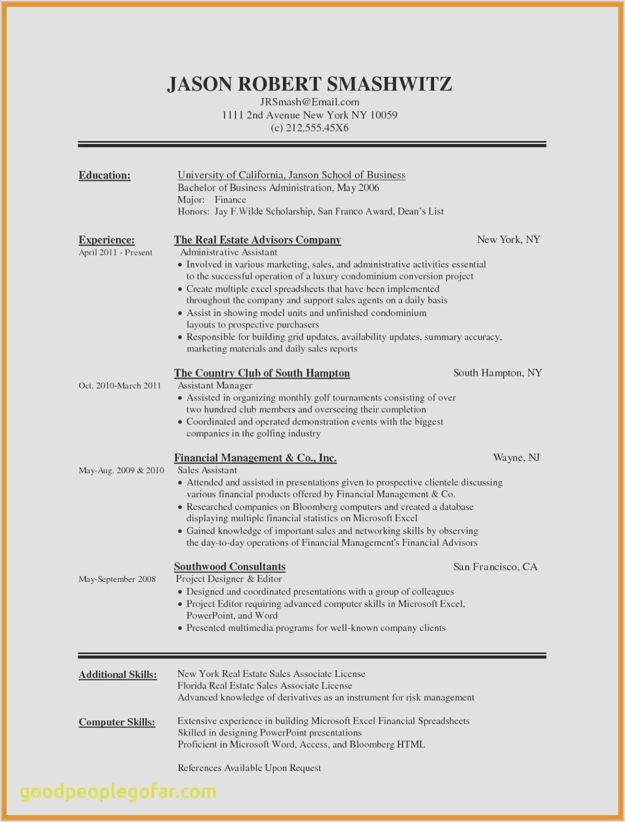 Furniture Sales Resume Microsoft Word Resume Templates 2010 Best ¢–· Resume Word