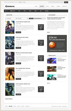 42 Best Gaming Web Templates images