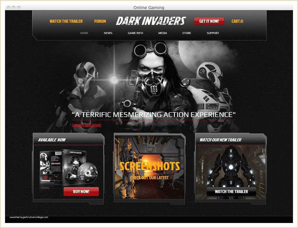 Gaming Website Template HTML5 Gaming Website Template HTML5 Free 30 Best HTML Game