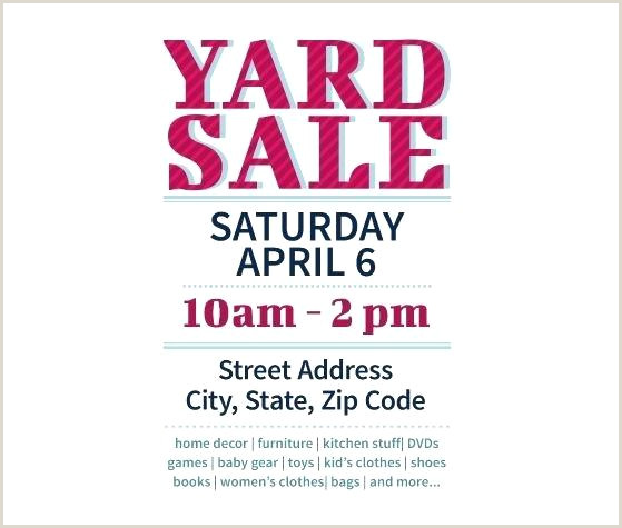 Download This Yard Sale Flyer Template And Other Free From