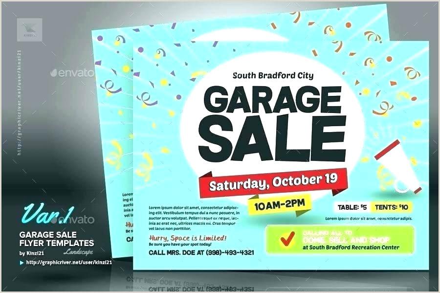 Garage Sale Flyers Free Templates Flea Market Flyer Template Free