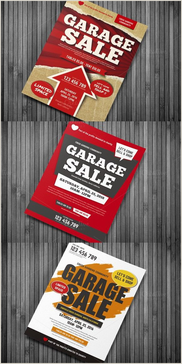 Garage Sale Flyers Free Templates Garage Sale Flyer Templates $7 00