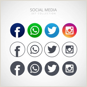Icones Redes Sociais Vetores e Fotos