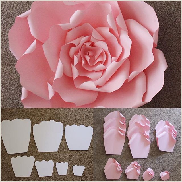 Giant Paper Rose Template Pdf Here are the Templates that are Used to Make A Beautiful