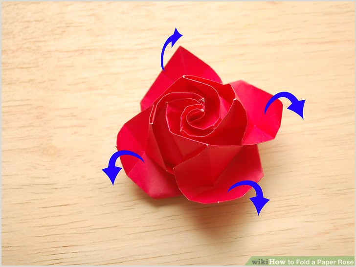 How to Fold a Paper Rose with wikiHow