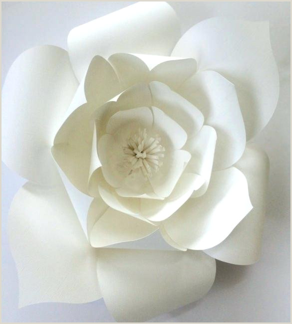 rose paper flower template free – aconcept